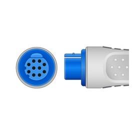 Embase ECG 3V DATEX MONOBLOC PINCE *