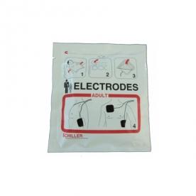 Electrode defibrillation SCHILLER FRED EASYPORT