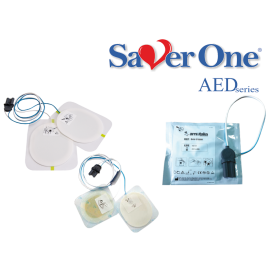 Electrode defibrillation SAVER ONE D