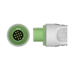 Embase ECG 3V ODAM / SCHILLER Monobloc Pression *
