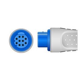 Embase ECG 3V DATEX MONOBLOC PRESSION *