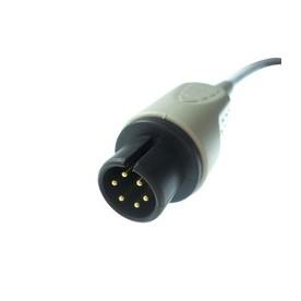 Embase ECG 5V Générique Monobloc Coudée Pression *