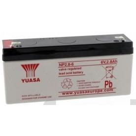 Batterie 6V 2.8AH ALARIS SERIE P *