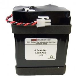 Batterie 6V 6AH WELCH ALLYN SPOT LXI *