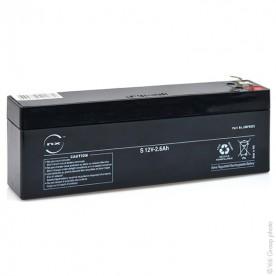 Batterie 12V 2.6AH DATEX CARDIOCAP 5 / ARGUS LCM *