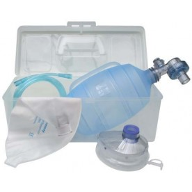 Set insufflateur silicone (Valve de surpression 40cmH2O) VBM 2000ml