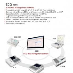Logiciel de gestion veterinaire BIOCARE ECG-1000