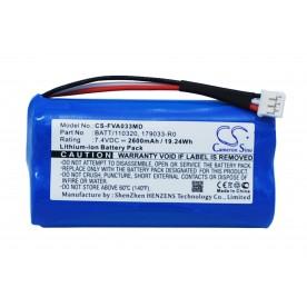 Batterie 7.2V 2.2AH FRESENIUS VOLUMAT AGILIA *