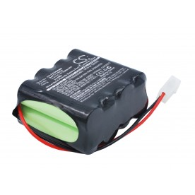 Batterie 9.6V 1.7AH CARDIOLINE CARDIETTE AR 600 *