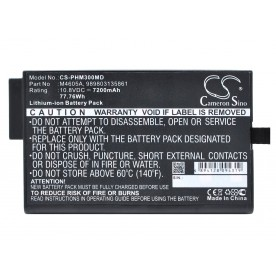 Batterie 10.8V 6AH PHILIPS MP 5/20/30/40/50 *