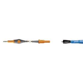 Cable monopolaire, fiche 2/4mm BOWA 405-045 4.5m