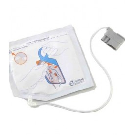 Electrode defibrillation CARDIAC SCIENCE AED G5