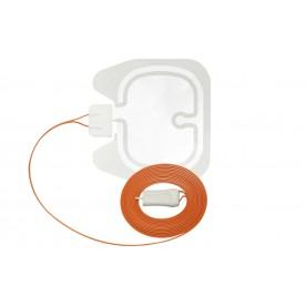 Electrode neutre EASY 90cm2 divisée, cable 3m, BOWA 818-092 (15)