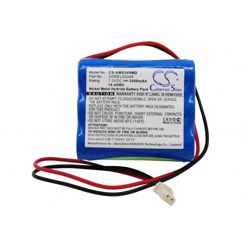 Batterie 7.2V 1.7AH ALARIS ASENA GW *